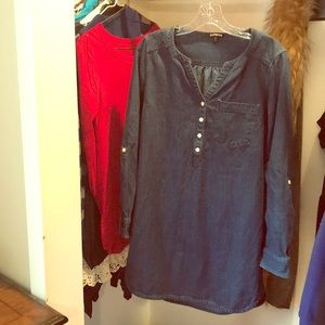 Express shirt dress small